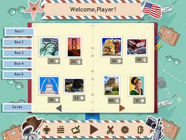 Tour du Monde en 1001 Puzzles: Amérique screen2