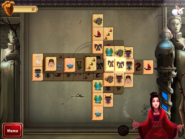 Vidéo de 2D Mahjong Temple