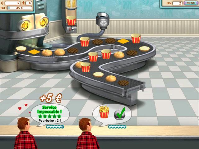 Vidéo de Burger Shop