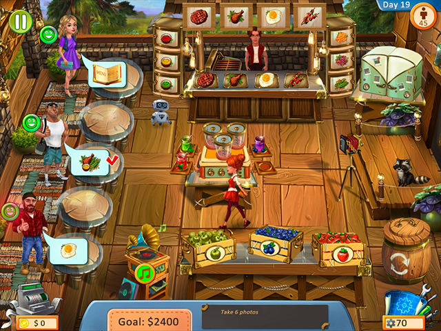 Cooking Trip screen1