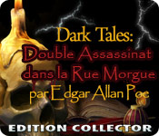 Dark Tales™: Double Assassinat dans la Rue Morgue par Edgar Allan Poe Edition Collector