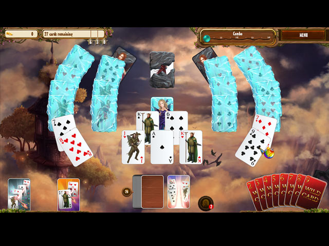 Fantasy Quest Solitaire screen2