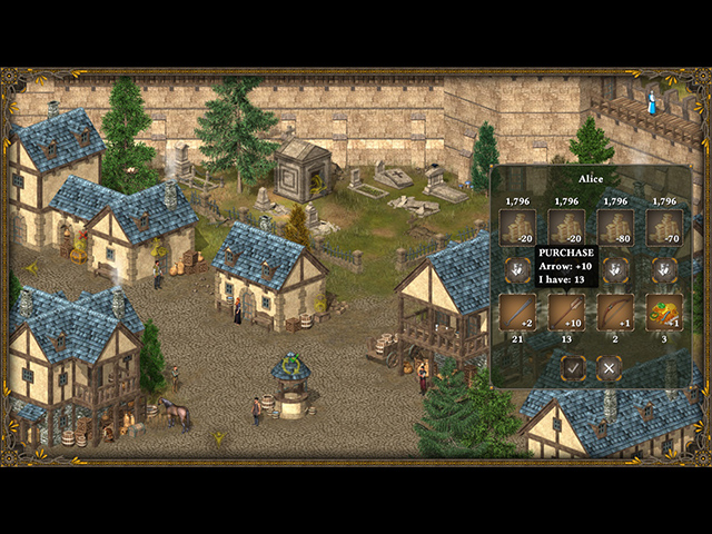 Hero of the Kingdom III screen1