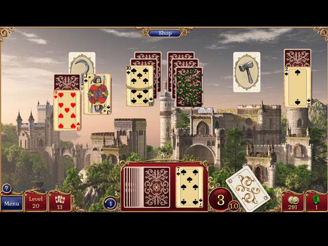 Jewel Match Solitaire screen1