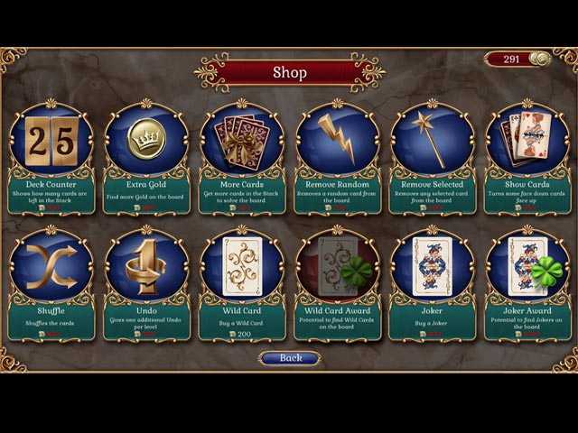 Jewel Match Solitaire screen2