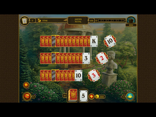 Solitaire chevalier 3 jeu ipad iphone android et pc for Big fish solitaire games