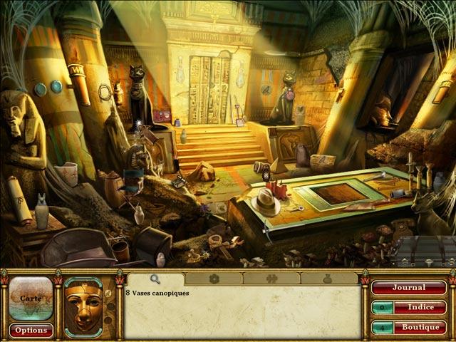 Vidéo de La Malédiction du Pharaon: Les Larmes de Sekhmet