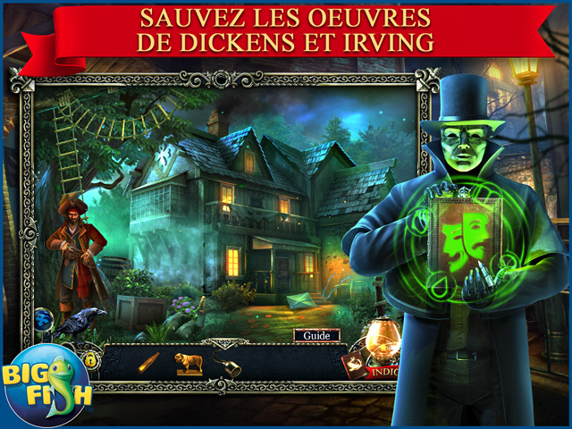 Capture d'écran de Midnight Mysteries: Ecrivains de l'Ombre Edition Collector