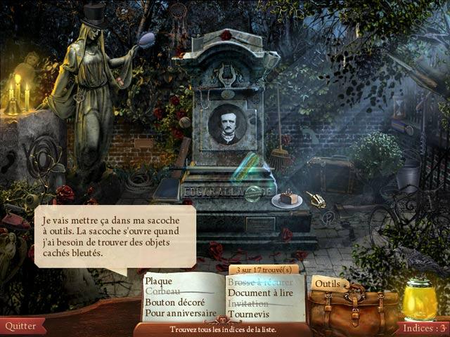 Vidéo de Mystères de Minuit: La Conspiration d'Edgar Allan Poe