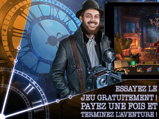 Capture d'écran de Mystery Case Files: Heure Funeste Édition Collector
