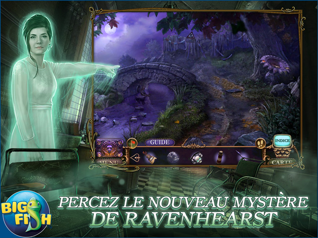 Capture d'écran de Mystery Case Files: La Clé de Ravenhearst Édition Collector