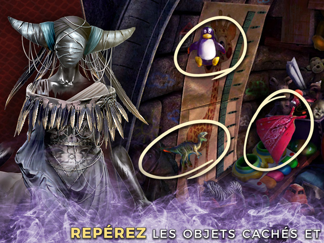 Capture d'écran de Mystery Case Files: Le Voile Noir Édition Collector