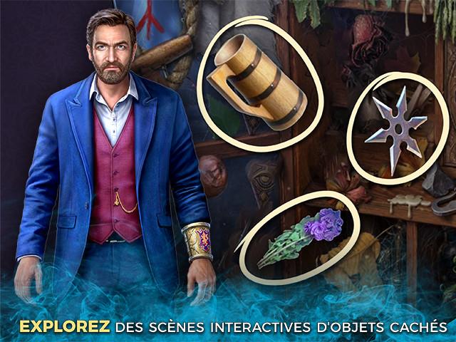 Capture d'écran de Mystery of the Ancients: La Dague Noire Édition Collector