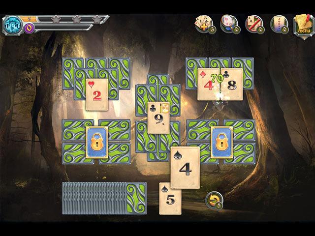 Mystic Journey: Tri Peaks Solitaire screen1