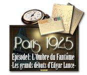 Paris 1925: L'Ombre du Fantôme - Les grands débuts d'Edgar Lance