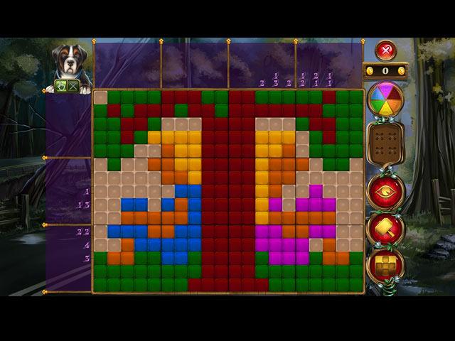 Rainbow Mosaics: Le Gardien de la Forêt screen1
