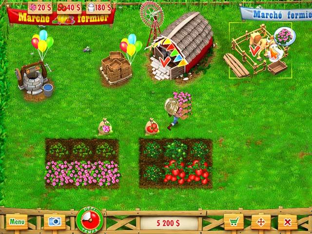 Screenshoot of Ranch Rush
