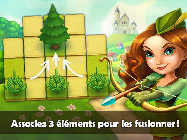 Capture d'écran de Robin Hood Legends: Puzzle Adventure