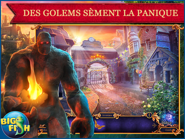 Capture d'écran de Royal Detective: La Légende du Golem Édition Collector
