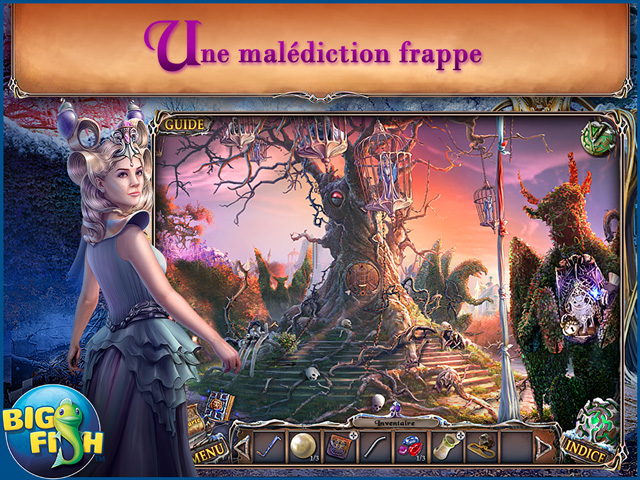 Capture d'écran de Sable Maze: Jardin Interdit Edition Collector