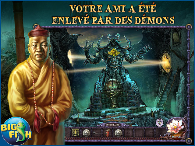 Capture d'écran de Secrets of the Dark: La Montagne du Démon Edition Collector