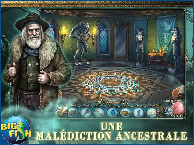 Capture d'écran de Shadow Wolf Mysteries: Les Traces de la Terreur Edition Collector