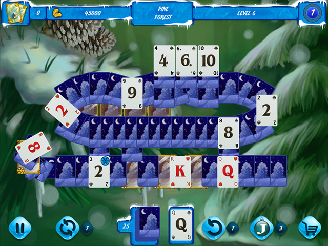 Solitaire de Jack Frost 3 screen1