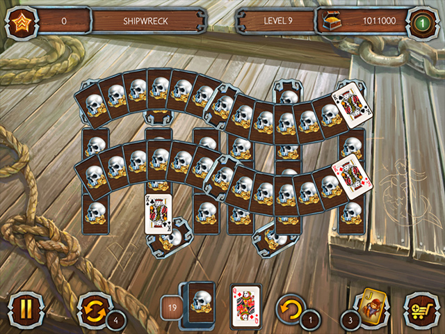 Solitaire: La Légende des Pirates 3 screen3