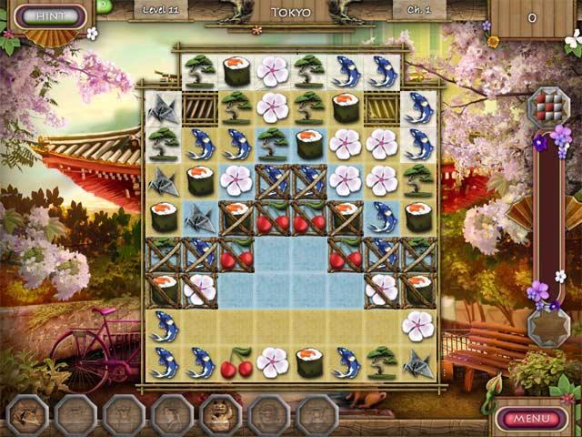 Spring in Japan screen3