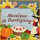 Mosaïque de Thanksgiving