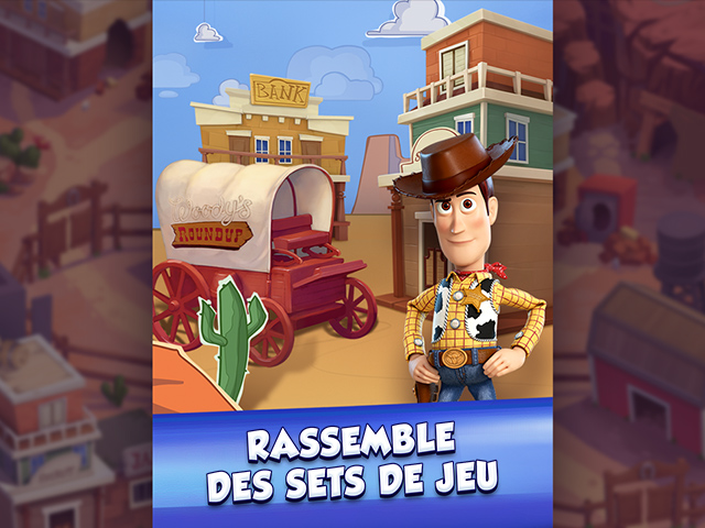 Capture d'écran de Toy Story Drop!