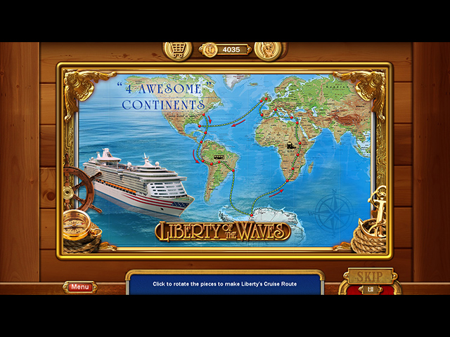 Vacation Adventures: Cruise Director 7 Édition Collector screen2