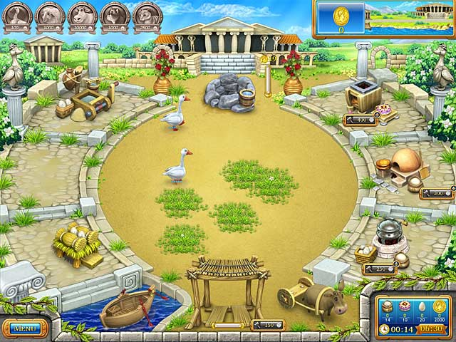 Video for Farm Frenzy: Ancient Rome